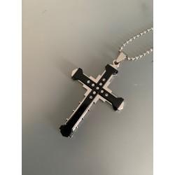 Pendentif Croix Jésus