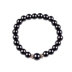 Bracelet en perle de Hématite