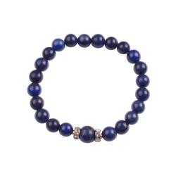 Bracelet en perle de Lapis...