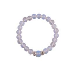 Bracelet en perle d'Opaline