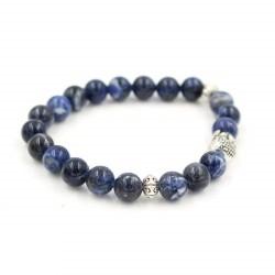 Bracelet en perle de Sodalite