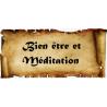 Bien être et Méditation